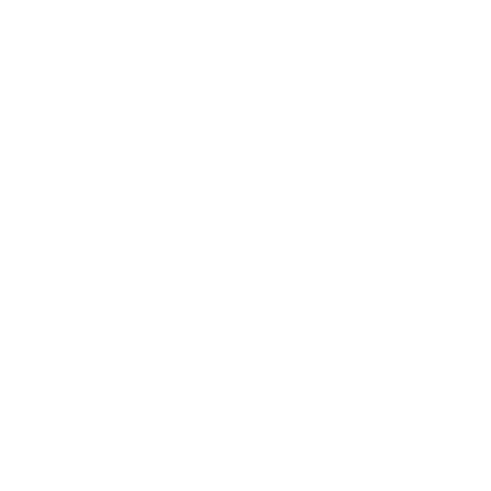 Atlantic Hair Studio Logo created with images of hair salon scissors arranged to look like a flower